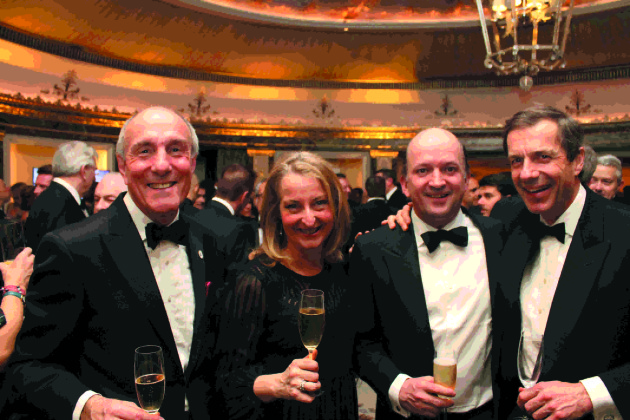 David Cox, Penny Richards, Michael Saunders and Patrick McGrath MW